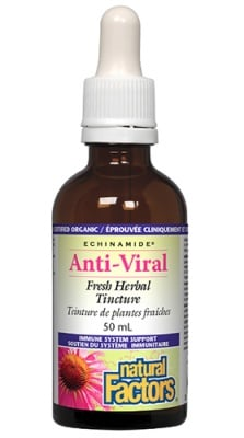 Anti-viral solution 50 ml Natural Factors / Анти-вирал солуцио 50 мл. Натурал Факторс