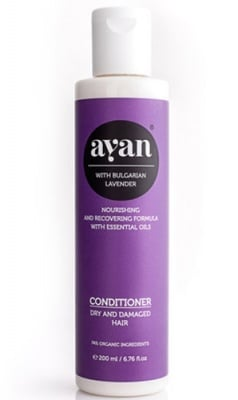 Ayan Conditioner with bulgarian lavender dry and damaged hair 200 ml. / Аян Балсам с Лавандула за суха и изтощена коса 200 мл.