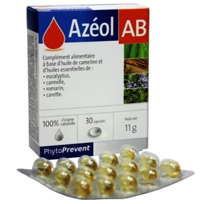Azeol AB 30 capsules / Азеол АБ 30 капсули