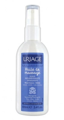 Uriage Nourishing massage oil for babies 100 ml / Уриаж Подхранващо масажно гел олио за бебета 100 мл.