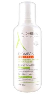 A-Derma Exomega Emollient balm anti-scratching 400 ml. / А-Дерма Екзомега контрол балсам 400 мл.