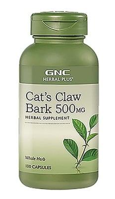 Cat's claw bark 500 mg 100 capsules GNC / Котешки нокът 500 мг. 100 капсули GNC