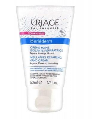 Uriage BARIEDERM Isulating repairing hand cream 50 ml / Уриаж BARIEDERM Изолиращ възстановяващ крем за ръце 50 мл.