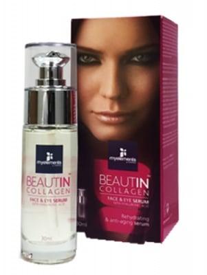 Beautin Collagen face and eye serum 30 ml. / Бютин Колаген серум за лице и очи 30 мл.