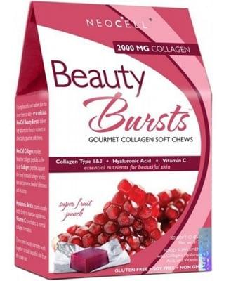 Beauty bursts gourmet collagen 60 soft chews NEOCELL USA / Бюти Бърст колагенови бонбони пунш 60 броя NEOCELL USA