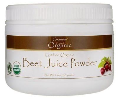 Swanson beet juice powder 150 g / Суонсън Органичен сок от Цвекло на прах 150 гр.