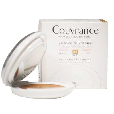 Avene Couvrance Compact foundation cream comfort SPF 30 2.5 beige / Авен Кувранс Компактна Крем-пудра комфорт SPF 30 2.5 бежов