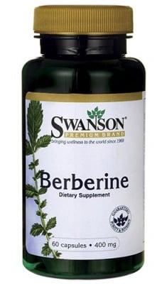 Swanson Berberine 400 mg 60 capsules / Суонсън Берберин 400 мг. 60 капсули