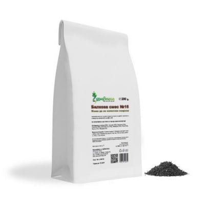 Herbal mixture N16 for neurosis 200 g Zdravnitza / Билкова смес N16 при невроза 200 гр. Здравница