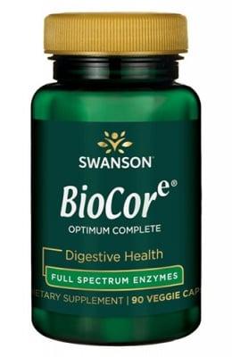 Swanson Biocorе optimum complete 90 capsules / Суонсън Биокор оптимум къмплийт ензими фул спектрум 90 капсули