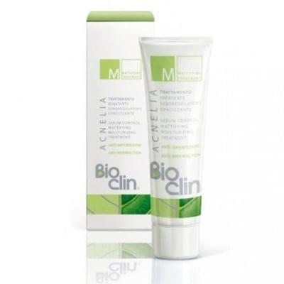 Bioclin Acnelia M Mattifying and moisturizing treatment 40 ml / Биоклин Акнелиа M Матираща емулсия за мазна и акнеична кожа 40 мл.