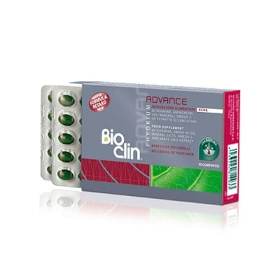 Bioclin Phydrium Advance KERA 30 tablets / Биоклин Фидриум Адванс Кера 30 таблетки