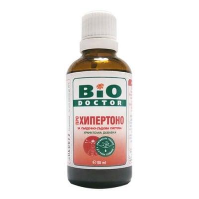 BioDoctor Hypertono solution 50 ml / БиоДоктор Хипертоно - за сърдечно-съдова система солуцио 50 мл.