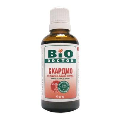 BioDoctor Cardio solution 50 ml / БиоДоктор Кардио - за сърдечно-съдова система солуцио 50 мл.