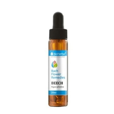 Bioherba Bach Flower Remedies Beech (Fagus sylvatica) 20 ml. / Биохерба капки на доктор Бах Бук 20 мл.