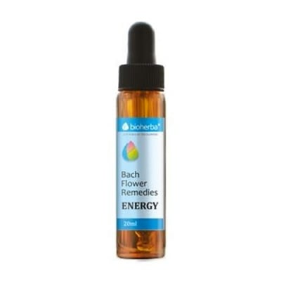 Bioherba Bach Flower Remedies Energy 20 ml. / Биохерба капки на доктор Бах Енергия 20 мл.