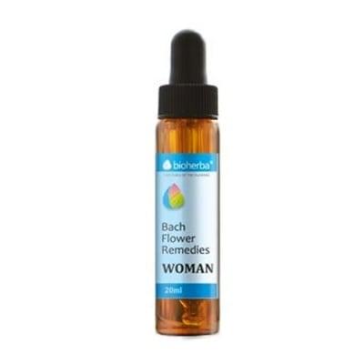 Bioherba Bach Flower Remedies Woman 20 ml. / Биохерба капки на доктор Бах за жената 20 мл.