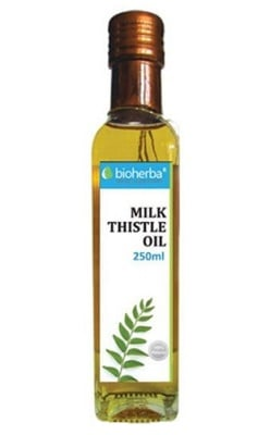 Bioherba milk thistle oil 250 ml / Биохерба масло от Бял трън 250 мл.
