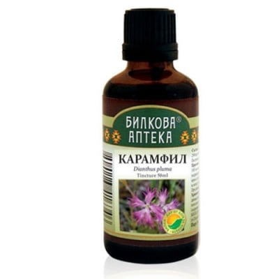 Bioherba Dianthus Pluma tincture 50 ml / Тинктура Карамфил 50 мл. Билкова Аптека