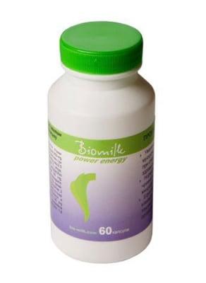 Biomilk Power energy 60 capsules / Биомилк пауър енерджи 60 капсули