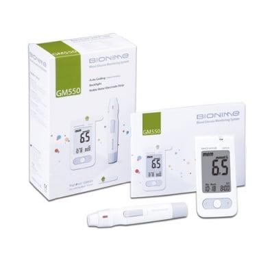 Blood glucose apparatus Bionime Rightest GM550 / Апарат за измерване на кръвна захар Бионейм GM550