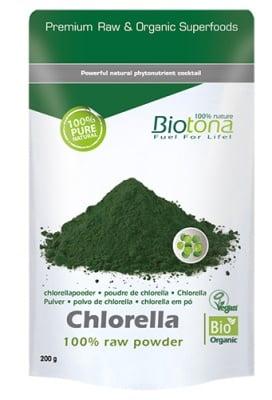 Biotоna Chlorella powder 200 g / Биотона Био Хлорела на прах 200 гр.
