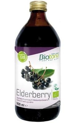 Biotоna Elderberry juice 500 ml. / Биотона Био сок от Бъз концентриран 500 мл.