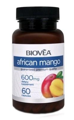 Biovea African mango 600 mg. 60 capsules / Биовеа Африканско манго 600 мг. 60 капсули