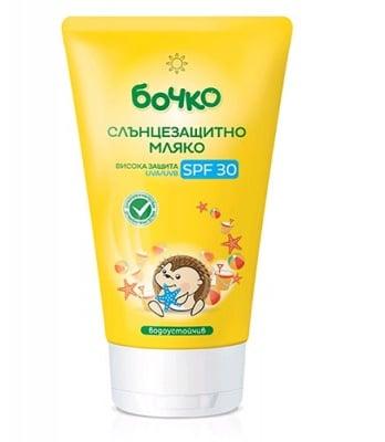 Bochko suncare milk SPF 30 / Бочко слънцезащитно мляко SPF 30