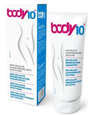 Body 10 push up anti-cellulite action cooling effect 200 ml. / Боди 10 пуш ъп антицелулитен крем с охлаждащ ефект 200 мл.