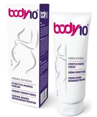 Body 10 push up stretch marks cream 200 ml. / Боди 10 пуш ъп крем срещу стрии и белези 200 мл.