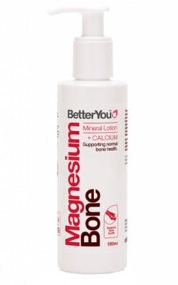 Better You Magnesium bone mineral lotion + calcium 180 ml. / Бетър Ю Лосион за тяло с Магнезий и калций 180 мл.