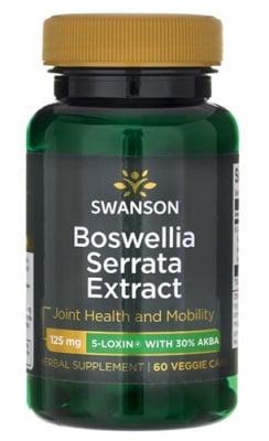 Swanson 5-Loxin Boswellia serrata extract 125 mg 60 capsules / Суонсън 5-Loxin Екстракт от Босвелия серата 125 мг. 60 капсули