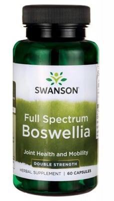 Swanson Boswellia double strength 800 mg 60 capsules / Суонсън Босвелия фул спектрум двойна сила 800 мг. 60 капсули