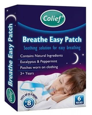 Colief breathe easy patch 6 pcs. / Колийф лепенки за леко дишане 6 броя