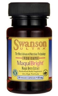 Swanson maqui bright 60 mg 30 capsules / Суонсън Маки брайт 60 мг. 30 капсули