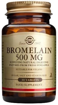 Bromelain 500 mg 30 tablets Solgar / Бромелайн 500 мг. 30 таблетки Солгар