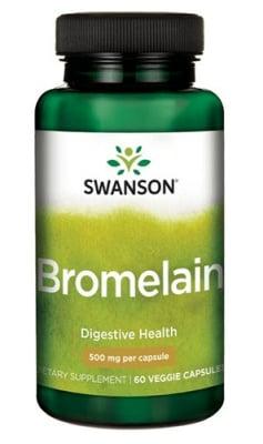 Swanson Bromelain 500 mg 60 capsules / Суонсън Бромелаин максимална сила 500 мг. 60 капсули
