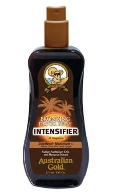 Australian gold bronzing dry oil spray intensifier SPF 0 237 ml. / Аустралиан голд бронзиращо сухо олио - спрей за интензивен тен SPF 0 237 мл.