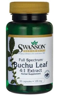 Swanson Buchu leaf extract 100 mg 60 capsules / Суонсън Бучу лист екстракт 100 мг. 60 капсули