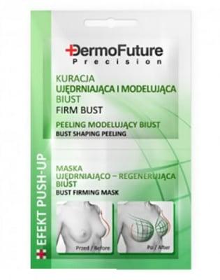 Dermofuture bust shaping peeling 2 pcs. 12 ml / Дермофючър Маска за оформяне и стягане на бюста 2 броя 12 мл