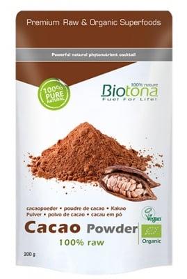 Biotоna Cacao powder 200 g / Биотона Био какао на прах 200 гр.