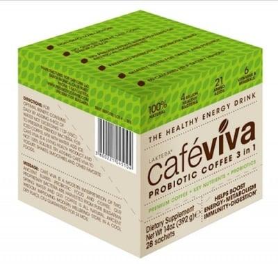 Laktera Cafe Viva 3in1 28 sachets / Лактера Кафе Вива 3в1 28 сашета x 12 гр.