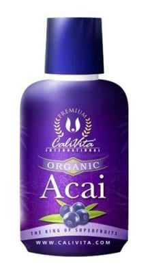 Calivita Acai organic juice 473 ml. / Каливита Акай органик сок 473 мл.