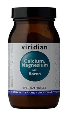 Calcium, Magnesium, Vitamin C with Boron powder 150 gr Viridian / Калций, Магнезий, Витамин Ц и Бор 150 гр Виридиан