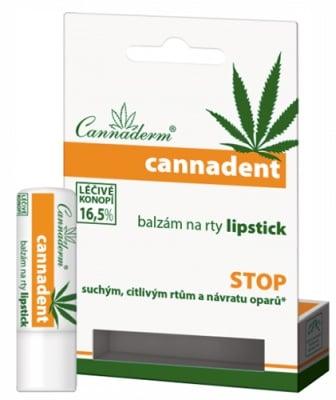 Cannaderm Cannadent Lipstick 4.5 g / Канадерм Канадент Балсам за устни 4,5 гр.