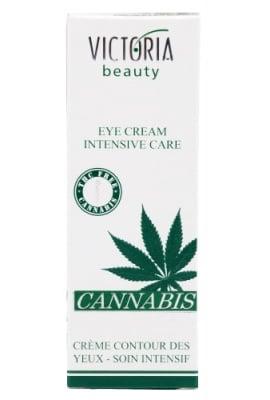 Victoria Beauty Cannabis eye cream intensive cream 30 ml. / Виктория Бюти Канабис крем за очи - интензивна грижа 30 мл.