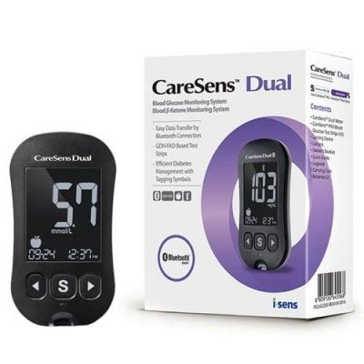 Blood Glucose and Ketone Monitoring System CareSens Dual / Апарат за измерване на кръвна захар и кетони Кеърсенс Dual