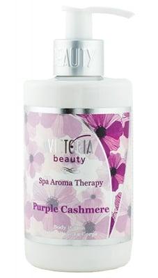 Victoria Beauty Spa aroma therapy body lotion Purple Cashmere 250 ml. / Виктория Бюти Спа арома терапи Лосион за тяло Пърпъл Кашмир 250 мл.