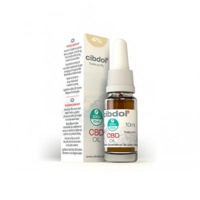Cibdol CBD Extract 4% with Hemp Seed Oil 10 ml. / Сибдол Конопено масло с 4% Канабидиол 10 мл.